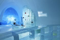 Ice Bar @ Ice Hotel in Sweden