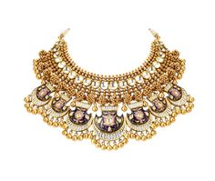 Shilpa lifestyle - Home Jewelry Design Earrings, Gold Jewellery Design, Necklace Designs, Antique Jewellery, Gold Jewelry, Indian Jewelry Sets, Jewellery Sketches, Jewelry Collection, Gold Necklaces