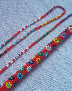 Bead Crochet Rope, Crochet Bracelet, Diy Christmas Cards, Baby Knitting Patterns, Textiles, Handmade Jewelry, Beaded Necklace, Beads, Earrings