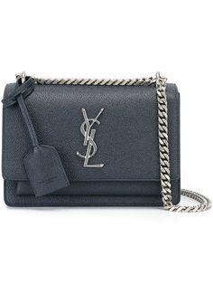 SAINT LAURENT Small 'Sunset Monogram' Shoulder Bag. #saintlaurent #bags…
