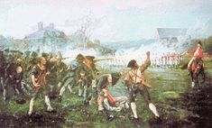 """On April 18, 1775 Lexington and Concord took place. The first shot fired was later known as """"The shot heard 'round the World"""""""