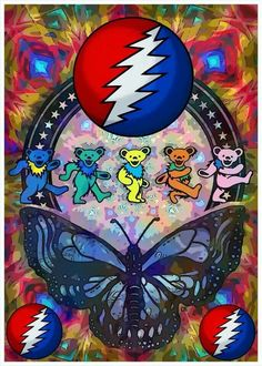 Grateful Dead : love the butterfly, haven't seen that before :)