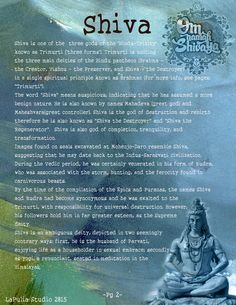Part 1 - Shiva and Shakti pg 4 - LaPulia Book of Shadows Mahakal Shiva, Shiva Art, Lord Shiva, Shiva Linga, Krishna, Rudra Shiva, Hanuman Chalisa, Om Namah Shivaya, Hindu Culture