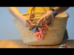DECORAR UN BOLSO CAPAZO | TUTORIAL DIY - YouTube