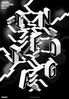 > Infotag 2010 #c2f #swiss #poster #typography