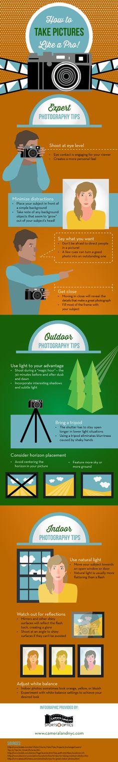 Come fare la #foto perfetta. #infografica