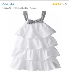 Little girl's dress, by Calvin Klein. So pretty.