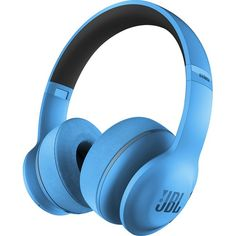 With JBL Pro Audio Sound and 40mm drivers, these JBL EVEREST 300 on-ear headphones offer enhanced audio performance for your favorite tunes. Stream music and podcasts wirelessly from a compatible device using the Bluetooth 4.1 interface.