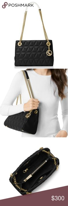 Michael Kors Quilted Shoulder/Crossbody Bag Authentic Michael Kors. Brand new with tags. Comes with dust bag. Can be worn as a shoulder bag or a crossbody. PRICE FIRM. Michael Kors Bags Shoulder Bags