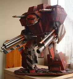 Pure awesomeness. I wish I had a Warlord Titan or the patience to make one.