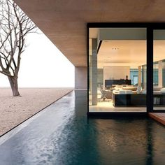 Amazing swimming #pool  Obumex Outside is designed by Govaert & Vanhoutte Architecture and is located in #Staden #Belgium // Photo by Thomas Debryune #restlessarch - Architecture and Home Decor - Bedroom - Bathroom - Kitchen And Living Room Interior Design Decorating Ideas - #architecture #design #interiordesign #homedesign #architect #architectural #homedecor #realestate #contemporaryart #inspiration #creative #decor #decoration
