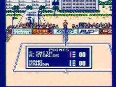 Kings of the Beach - by Konami for the Nintendo Entertainment System #NES - Playthrough by 2000Crabmaster