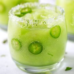 Deliciously sweet with a mild kick from the infused tequila, it's soon to be your new favorite drink!