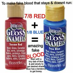 Blood that doesn't run.