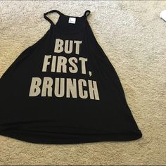 Cute work out shirt This shirt is great for a work out and super cute Tops Tank Tops