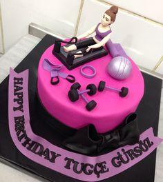 #Pilates #sport #girl #fit #gym #fitness #birthday #cake