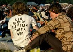Led bloody Zeppelin, that's who!