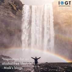 Inspiration for an alcohol-free lifestyle, Maik's latest blog featuring a beautiful video testimonial with inspiration for a healthy and exciting lifestyle. #LifeSetFree #HeartDriven