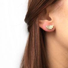Argent Sterling 925 Fine Dangle Boucles d/'oreilles avec finition martelé-Choisir n/'importe quelle forme