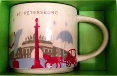St Petersburg | YOU ARE HERE SERIES | Starbucks City Mugs