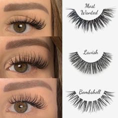 cruelty free faux mink lashes You are in the right place about eyelashes wallpaper Here … Best False Eyelashes, Applying False Eyelashes, Applying Eye Makeup, Best Lashes, Fake Lashes, Longer Eyelashes, Eyelashes Makeup, Lashes Logo, Eyelash Sets