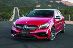 Australia's Best Cars 2015/2016 Awards. Winner - Best Sports Car $50-$100K winner - Mercedes-Benz A 45 AMG. RoyalAuto March, 2016.