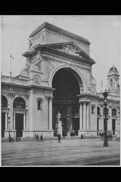 The Hemicycle of the Electricity Building of the World's Columbian Exposition of 1893