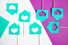 12 Housewarming Party Cupcake Toppers // by PaperlyPress on Etsy