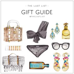 The Lust List Gift Guide: Summer Lovin'