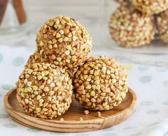 Healthy Snacks 200621358380854173 - Try our recipe for Gaytime Bliss Balls! Bring back memories of lazy summers at the local pool with this healthy (and equally delicious) take on the classic. Healthy Mummy Recipes, Healthy Baking, Healthy Desserts, Raw Food Recipes, Baking Recipes, Snack Recipes, Dessert Recipes, Sweet Recipes, Thermomix Recipes Healthy