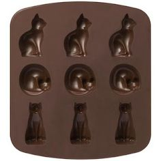 Silicon Cat Tray by MUJI - Great for cake baking or can be used to make candy or chocolate treats.