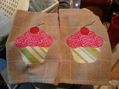 Cupcake Tea Towels