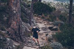 mountain running -