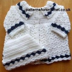 Looking for your next project? You're going to love pfc16-Coat-hat baby crochet pattern by designer justcrochet.