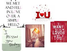 """I LOVE YOU-KEN"" by mindlesslover123 ❤ liked on Polyvore"