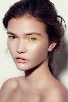 LOVE LOVE LOVE. yellow is the color of intellect and self-expression. this ethereal look is a good one to rock when you need to be bold and stay true to your own internal guidance system.