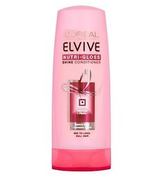 Loreal LOral Paris Elvive Nutri-Gloss Shine 12 Advantage card points. To help revive your hairs brilliance, LOral have developed Elvive Nutri-Gloss Conditioner, with Pearl Protein. Nutri-Gloss helps nourish the hair, without weighing it down le http://www.MightGet.com/february-2017-1/loreal-loral-paris-elvive-nutri-gloss-shine.asp