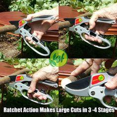 TGF Ratchet Hand PrunersIf you suffer from debilitating hand...