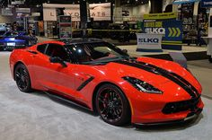 2014 Chevrolet Corvette Stingray Pacific Concept @ SEMA Show 2013