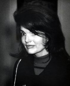 Jackie Kennedy Onassis during Jackie Onassis At JFK Airport - March...