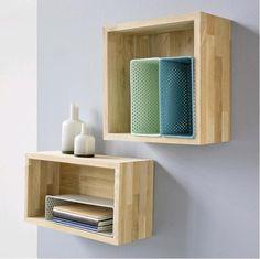 etagere bois rectangle