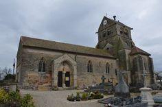 Eglise Saint-Vrain te Saint-Vrain (Marne 51)