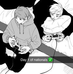 Haikyuu Ships, Haikyuu Manga, Haikyuu Fanart, Manga Art, Manga Anime, Anime Art, Anime Siblings, Miya Atsumu, Gekkan Shoujo