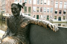 Amsterdam, Holland, Lion Sculpture, Bronze, Statue, Street, Art, The Nederlands, Art Background
