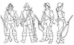 Final concept art for John Smith, Pocahontas 1995