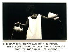 Lorna Simpson, Waterbearer,  (1986)