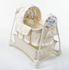 First Years Sway N Soothe Auto-Rocking Bassinet
