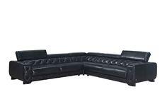 J&M Furniture | J&M Futon | Modern Furniture Wholesale | New York NY | New Jersey NJ :: Premium Leather Sectionals :: The Hilton Premium Sectional