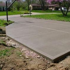 Checkerboard Broom Finish Driveways Deck Patio Favorites