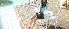 www.veronicab.com Veronica, White Shorts, Campaign, Summer, Women, Fashion, Moda, Summer Time, Fashion Styles